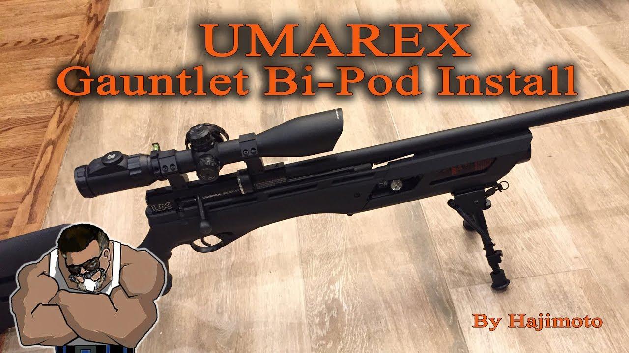 Umarex Gauntlet: Bipod Install on Shroud