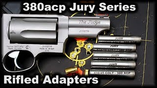 NEW Rifled adapters for Taurus Judge The JURY series 380acp