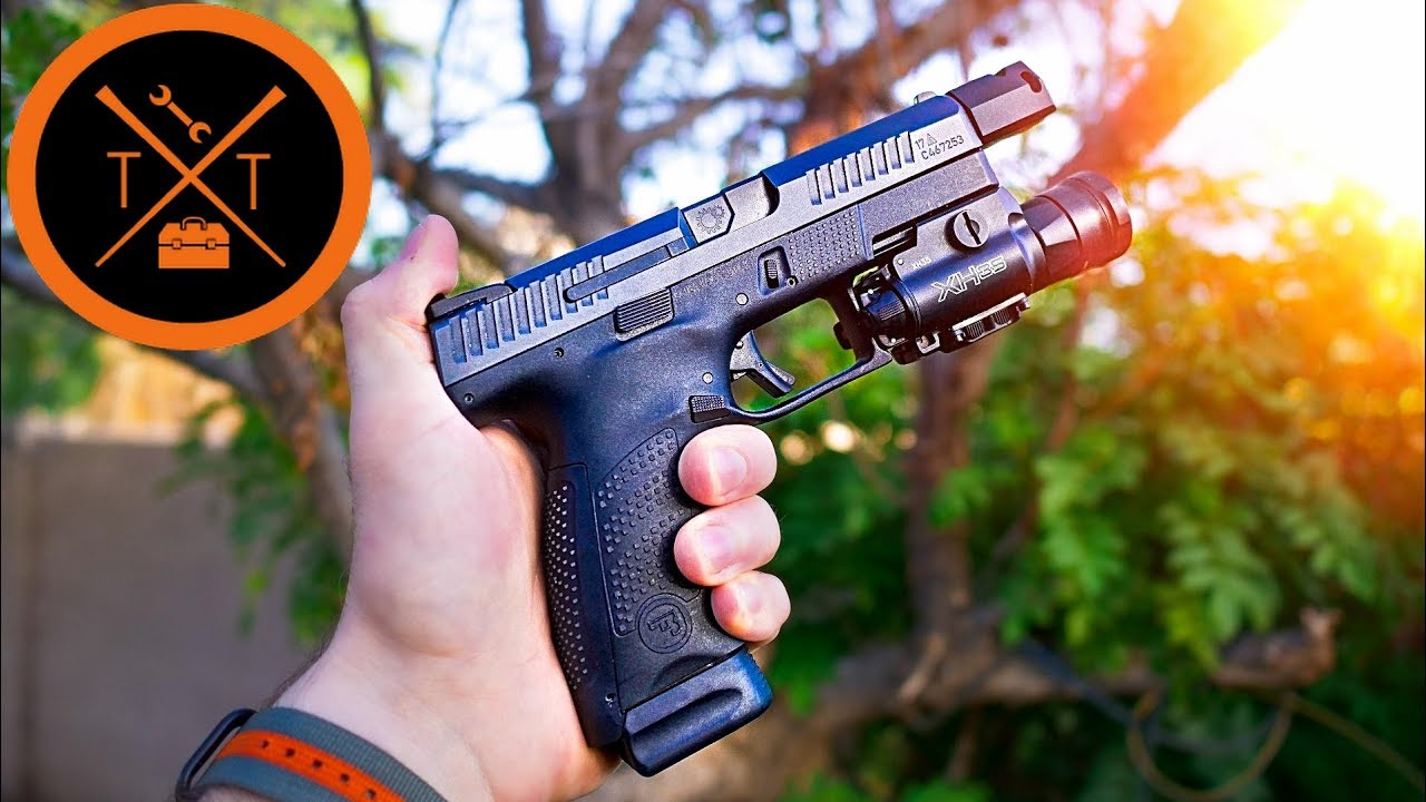 CZ P10C Upgrades // SPACE FORCE BLASTER!! (COUPONS)