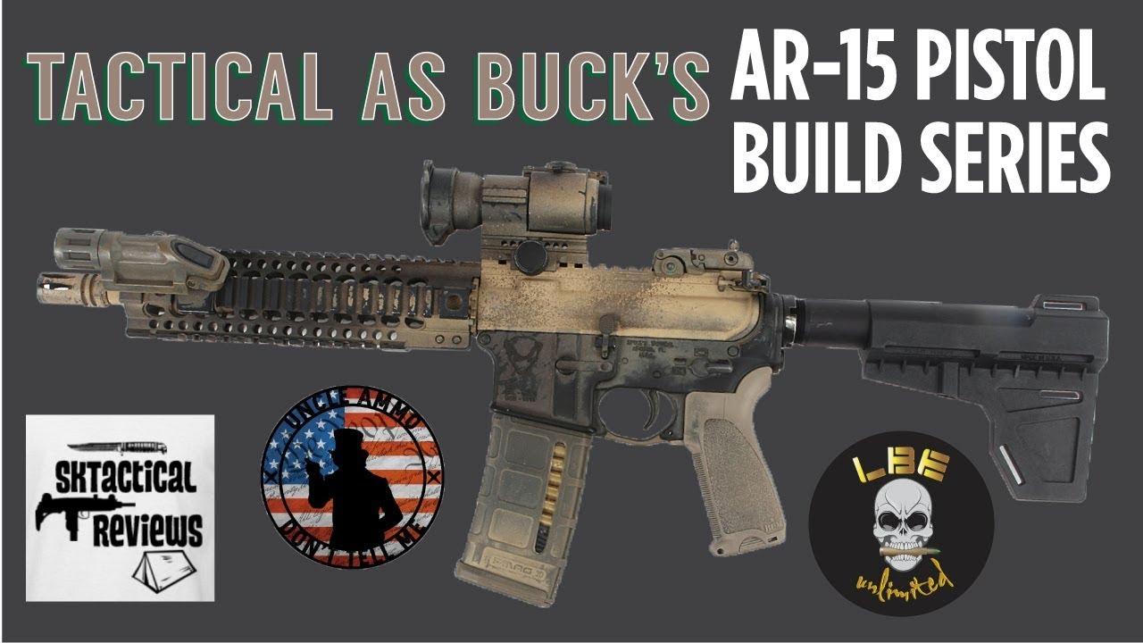 AR Pistol Build Episode 7: Muzzle Device Install