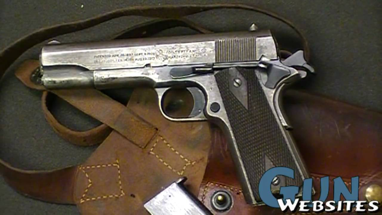 Colt 1911 made in 1919