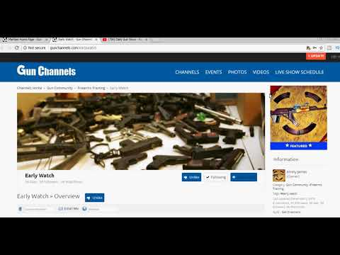 Posting a Video on Gun Channels