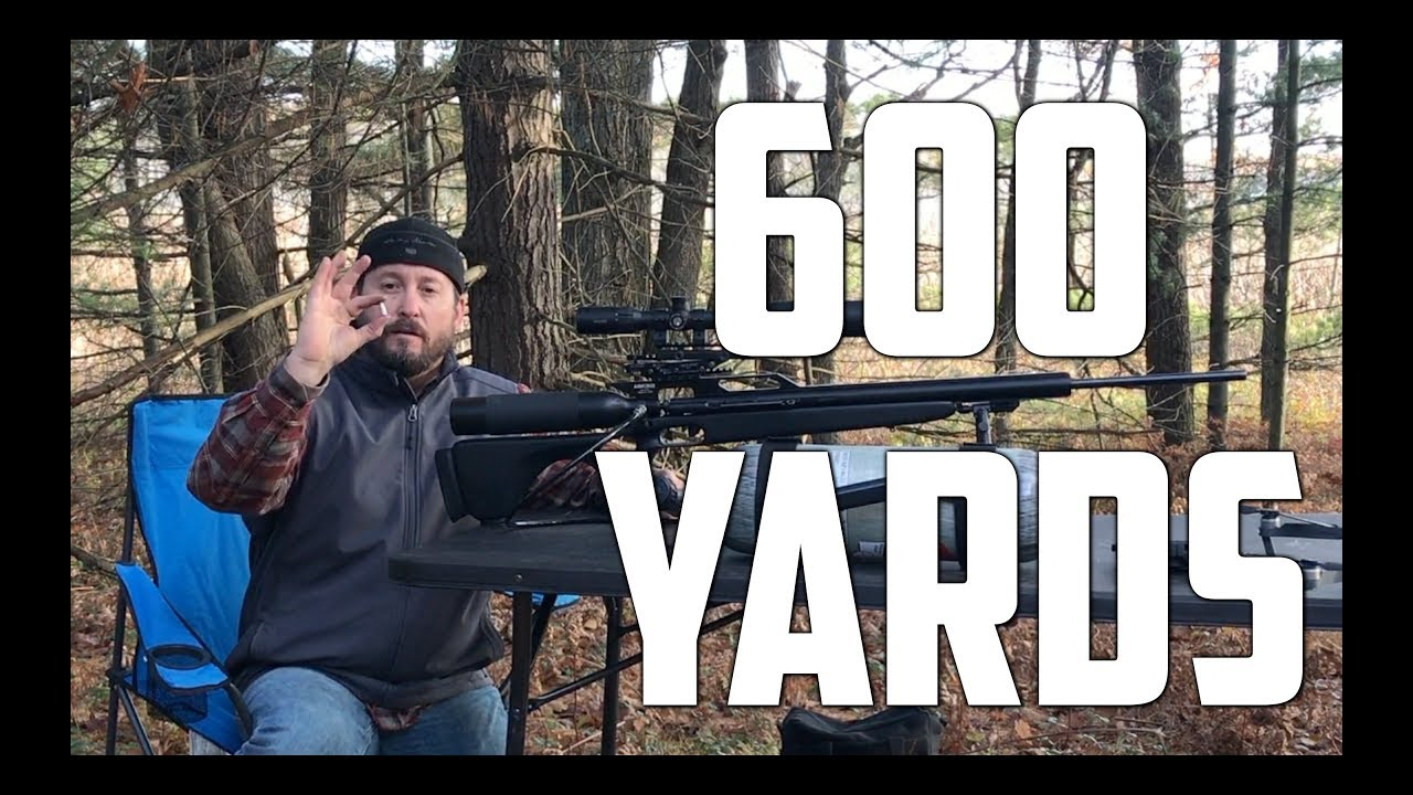 AirForce Texan Big Bore Airgun @ 600 Yards Hitting Golf Ball - AirGunDepot.com Long Ranger Challenge