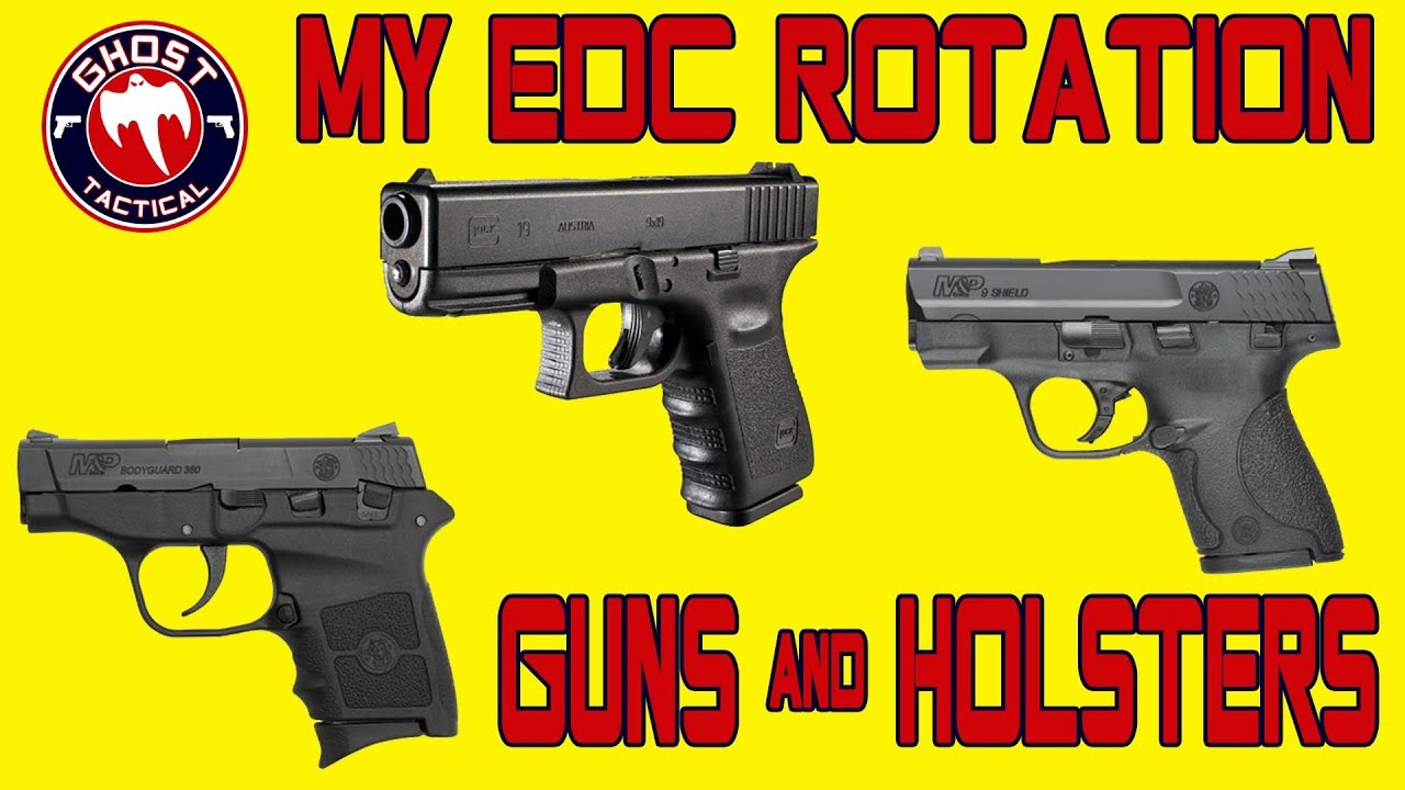 Concealed Carry:  A Marine's Every Day Carry (EDC) Rotation with Holster Options