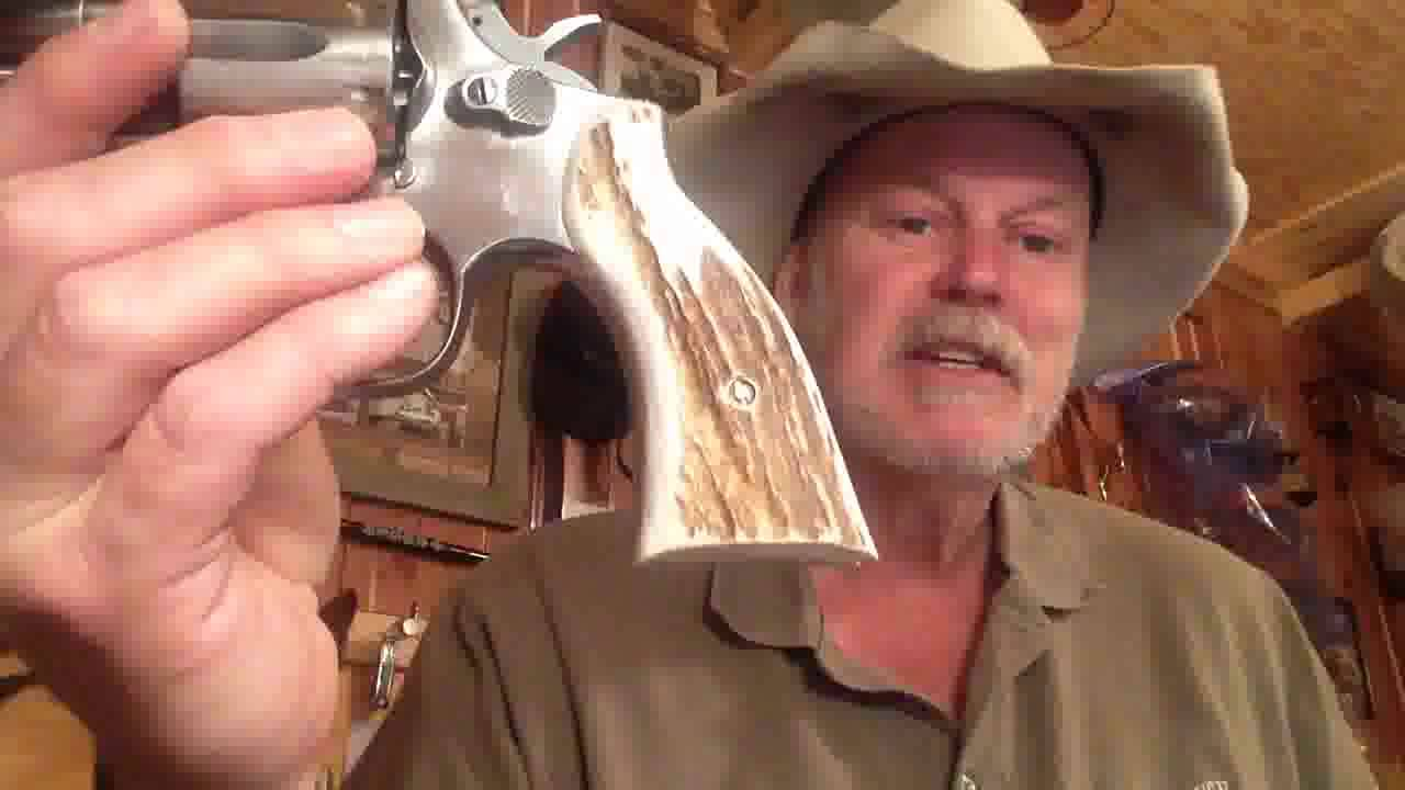 S&W Model 64 with Elk Horn Grips