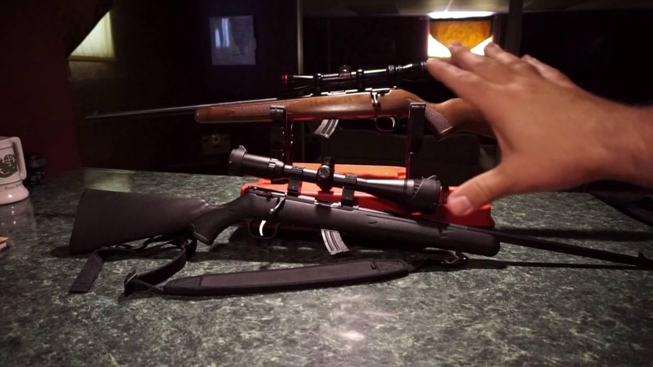 The Savage Mark II (Mark 2) bolt action 22LR Rifle.