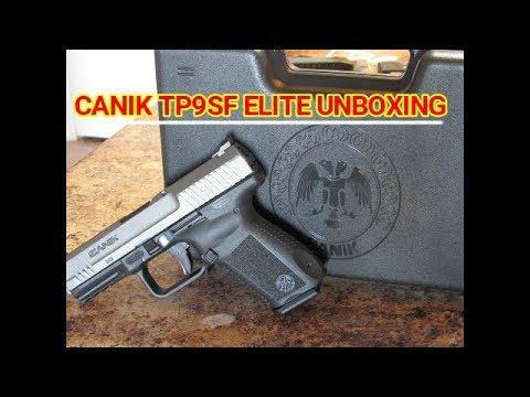 CANIK TP9SF ELITE UNBOXING