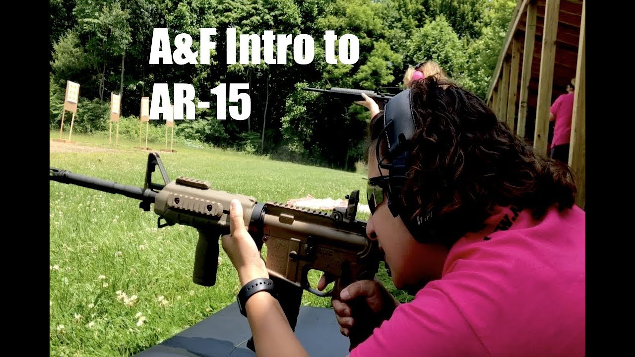 AR-15 Intro to Rifle