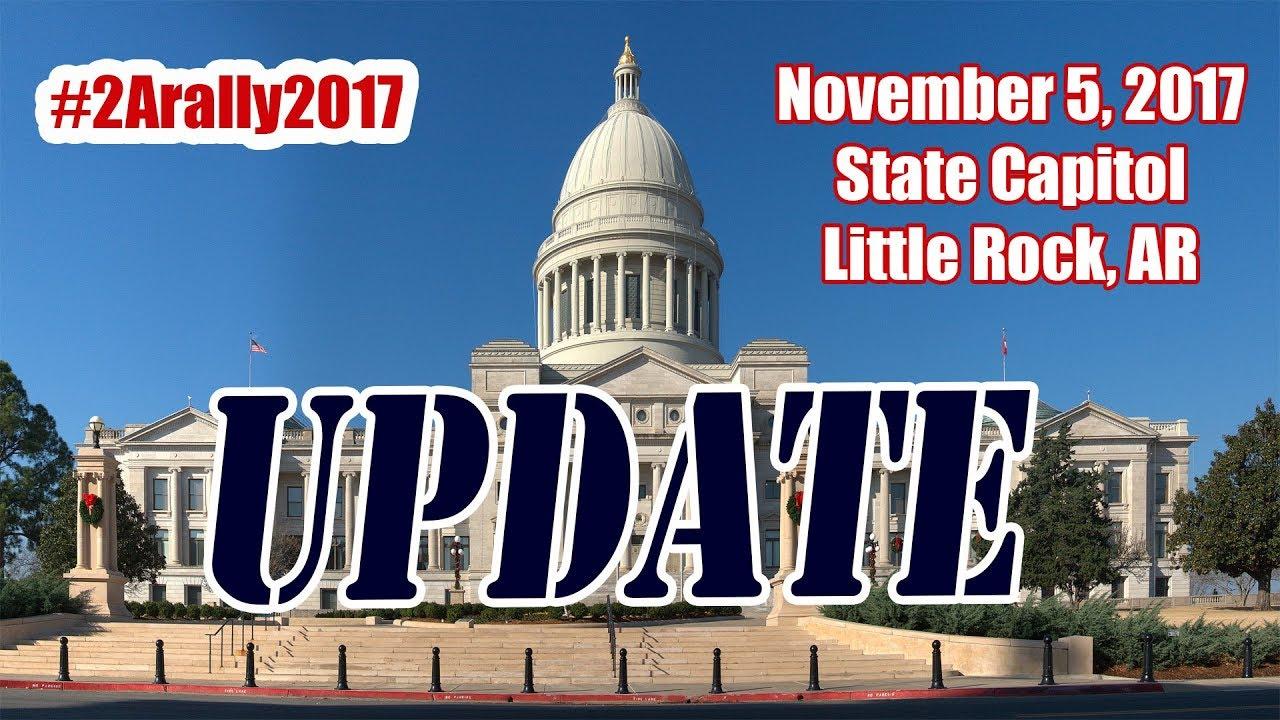 Arkansas 2nd Amendment Capitol Rally Update (Nov 2, 2017)