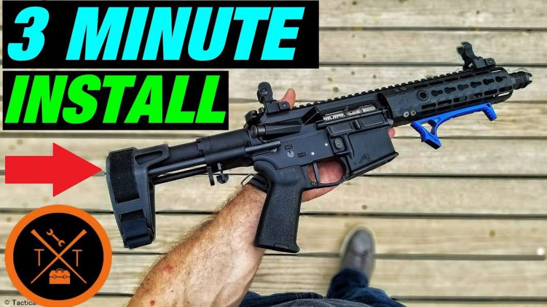3 Minute SB Tactical PDW Brace Install
