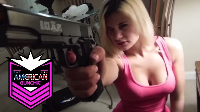 Airsoft Girls!! GIRL EXECUTES CHARLOTTE from Charlotte's Web!!!   Girls shooting Airsoft guns!