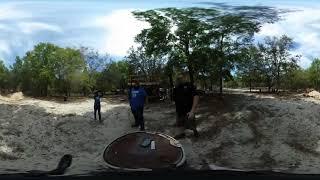 360° Video - Double Echo-15s at the Strange Hacienda
