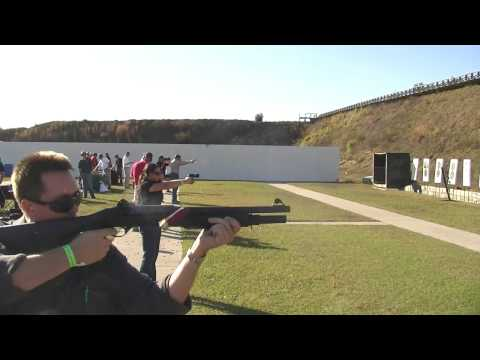 Shooting the Benelli M4