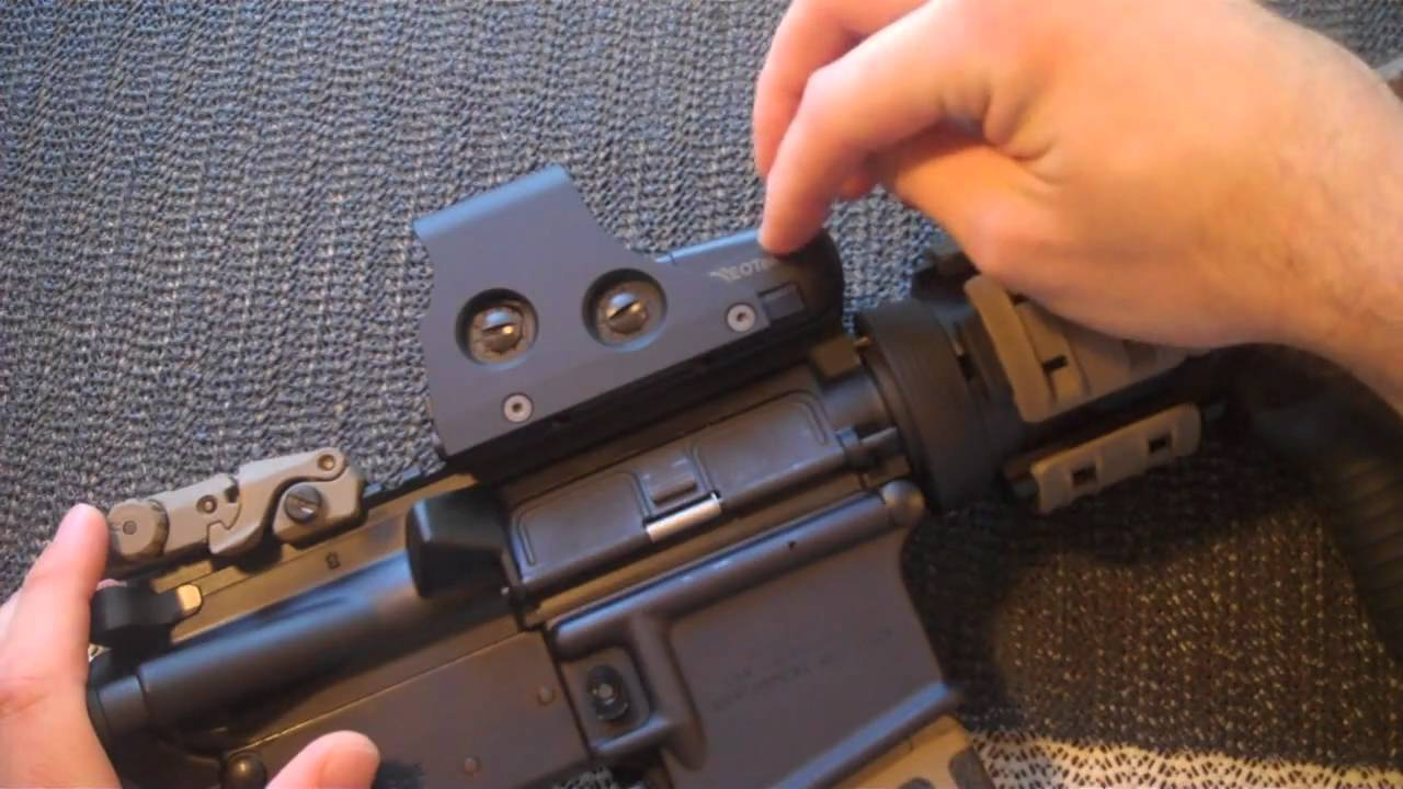 EOTech 551 Holographic Sight Review