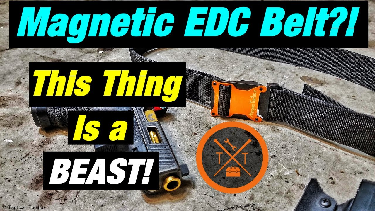 Magna Tactics: Magnetic Everyday Carry Belt Review! #PEWTUBER