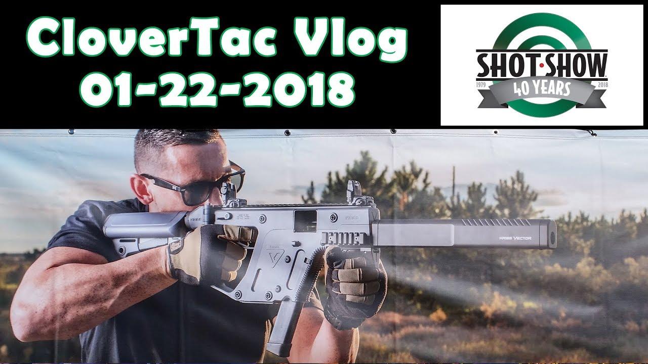Shot Show 2018 Vlog - Industry Day At The Range - 01-22-2018
