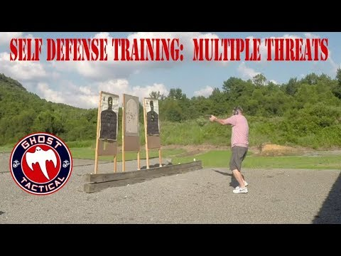 Range Time w/Ghost:  Self Defense - Engaging Multiple Targets and Threats