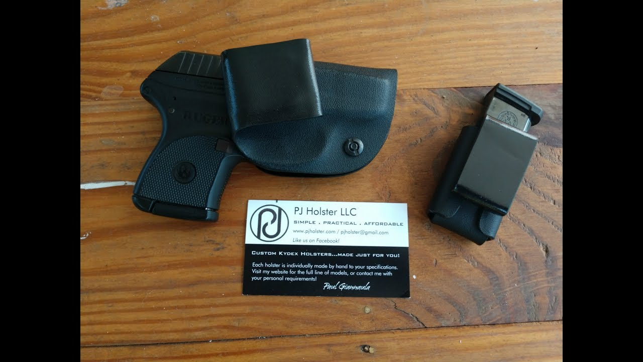 Ruger LCP PJ Holster IWB Kydex holster Review