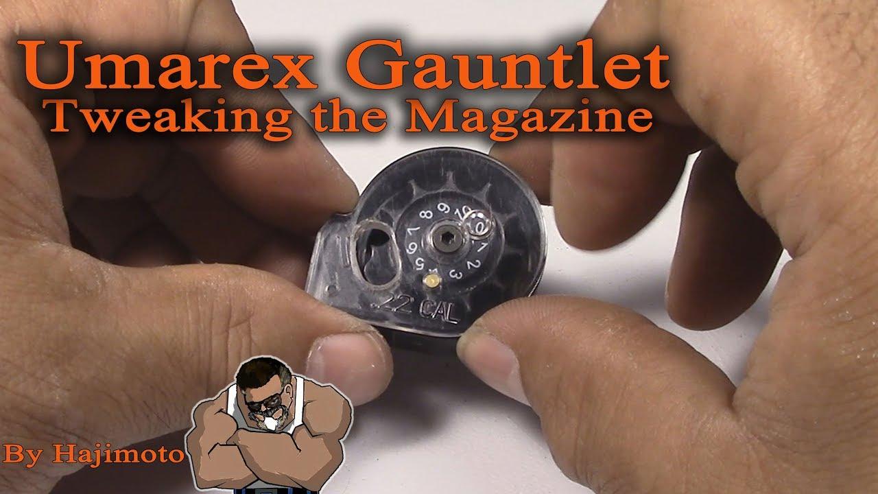 Umarex Gauntlet: Tweaking the magazine