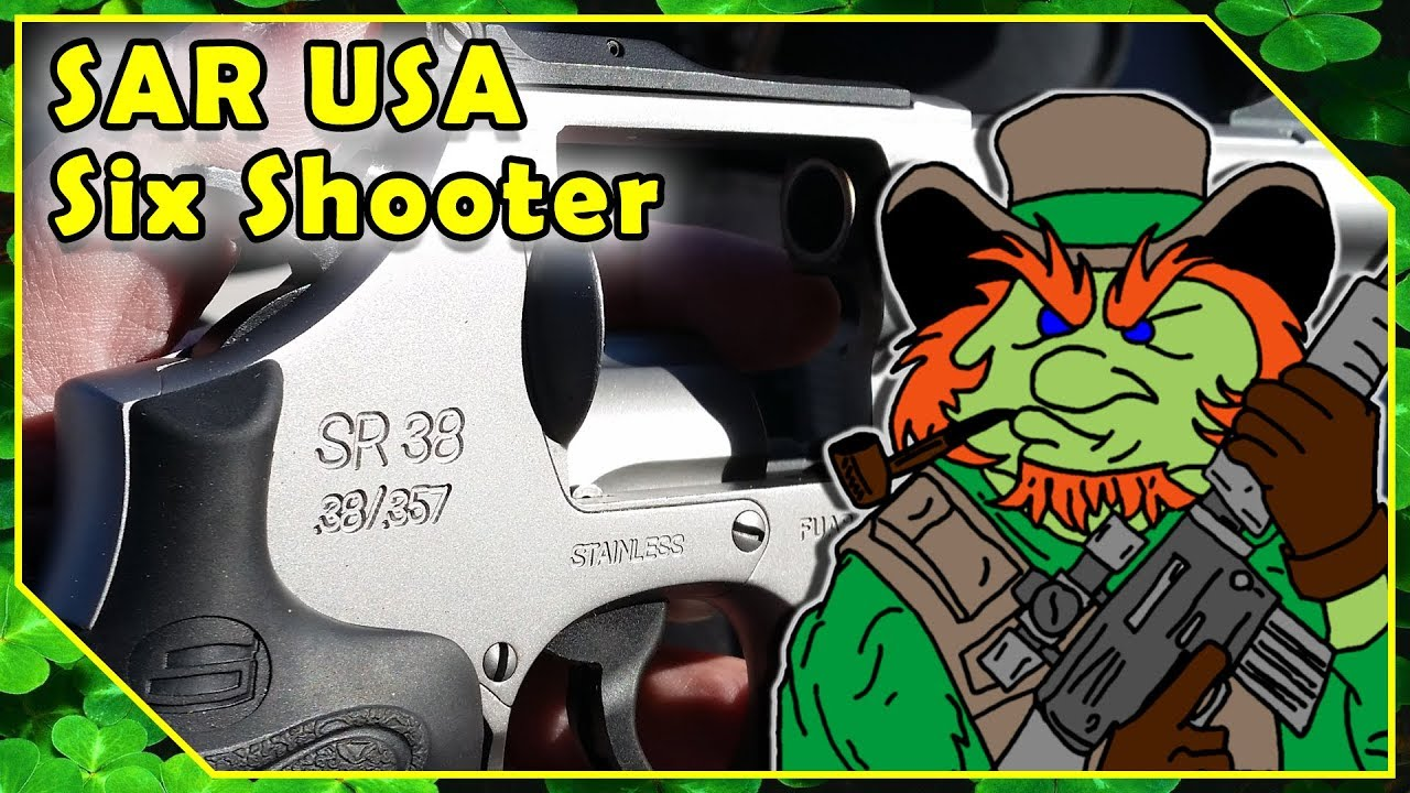 SR-38 Revolver In 357 Magnum By SAR - Shot Show 2018 Industry Day At The Range