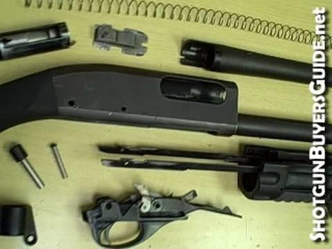 Assembling a Remington 870 Pump Shotgun