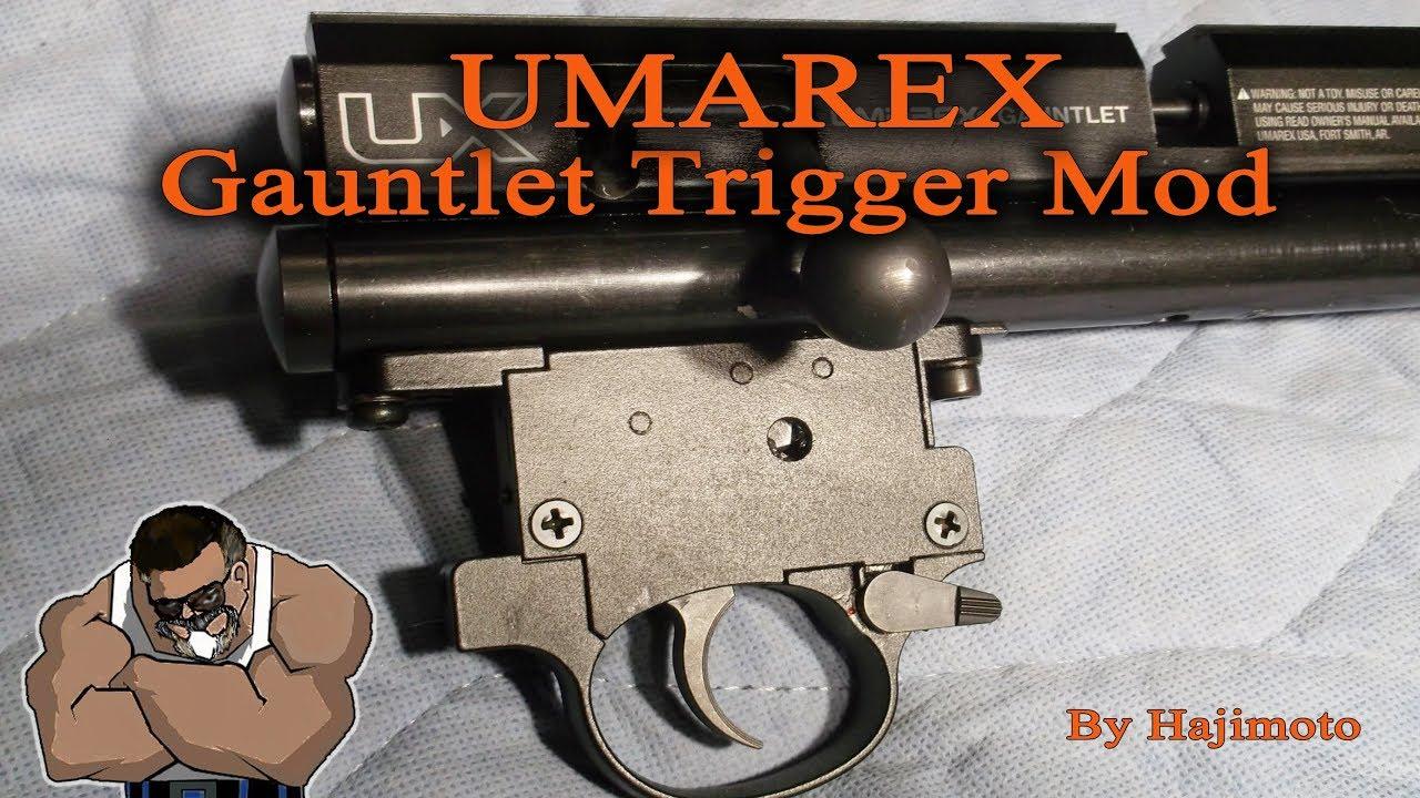 Umarex Gauntlet: Quieting the Bark Silencer