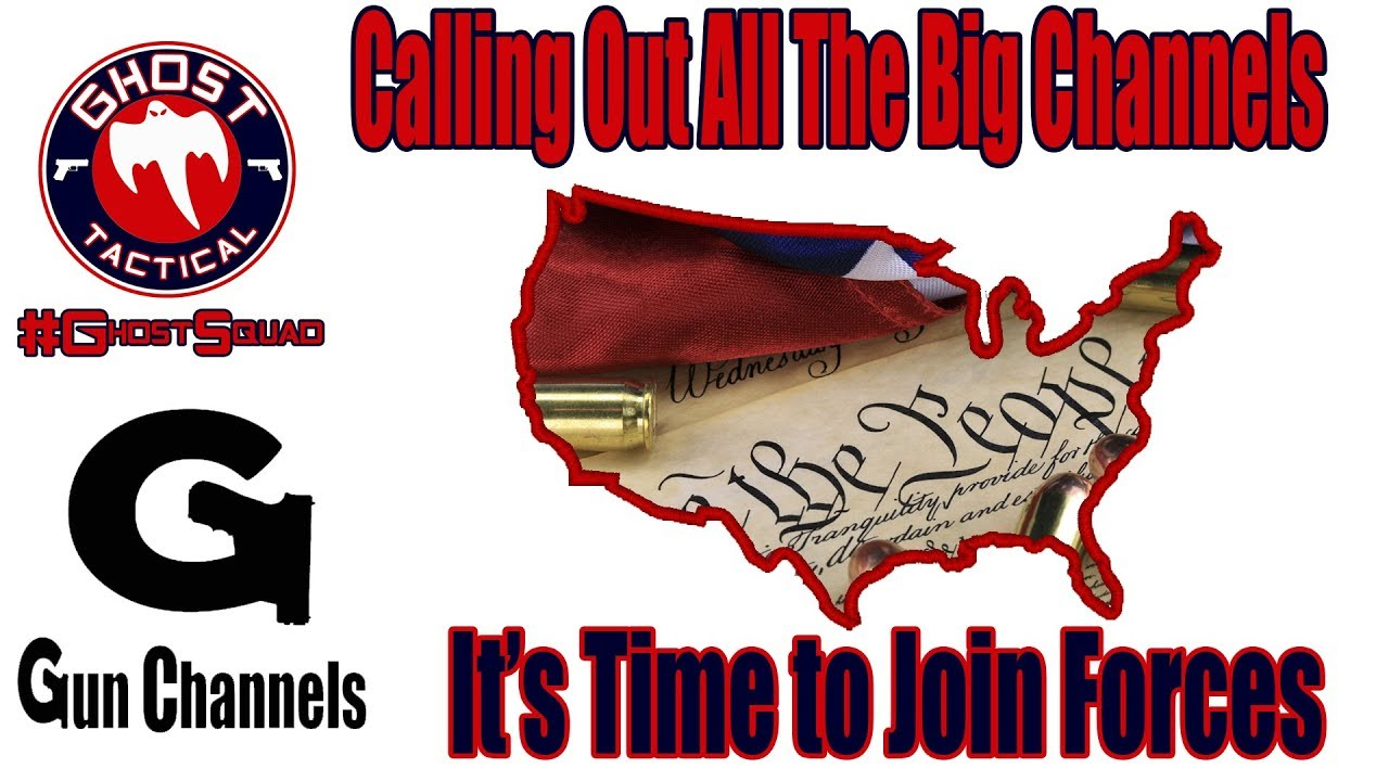 Calling Out The Big Channels:  Fight Together for the 2nd Amendment & Be a Part of the Solution