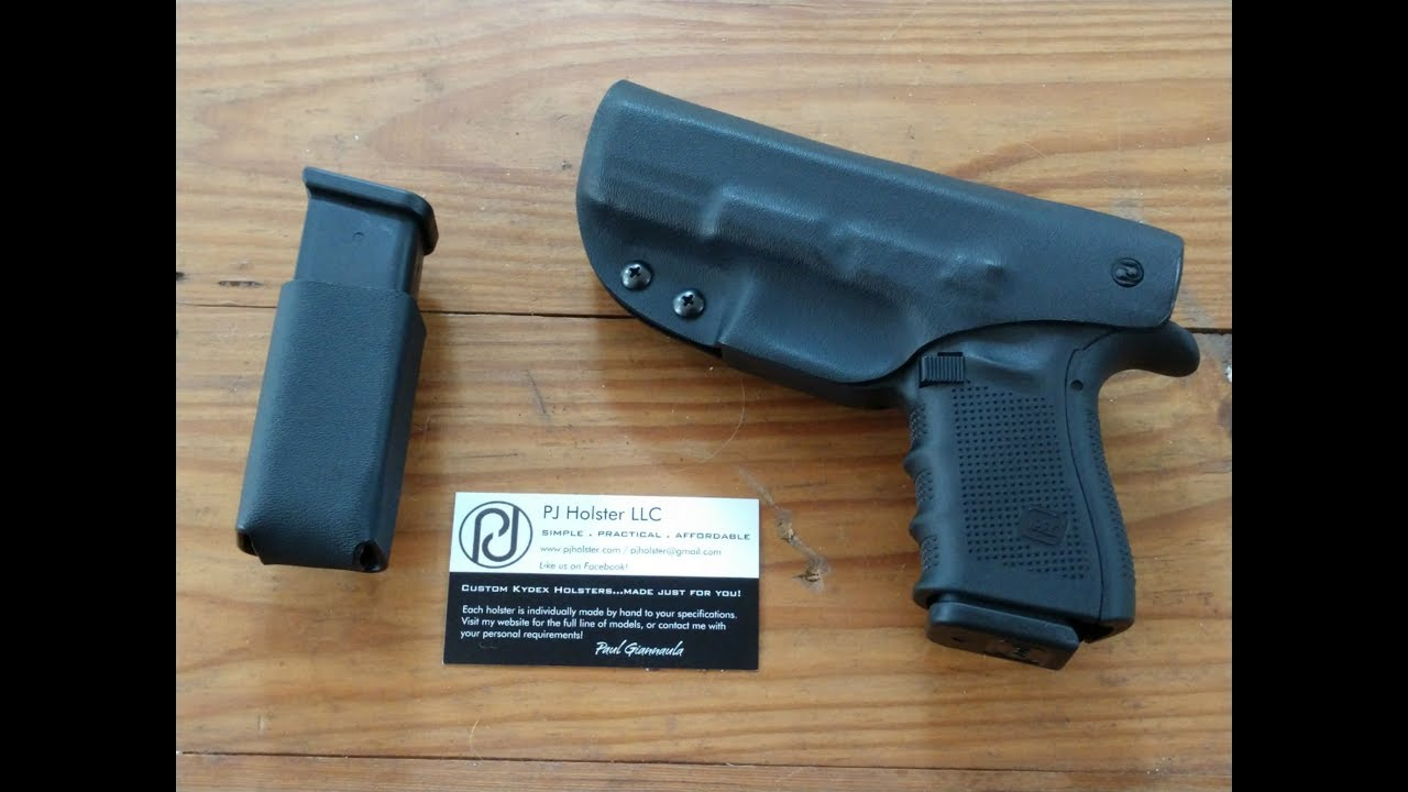 G23 the best IWB holster I have found so far 2017 PJ Holsters