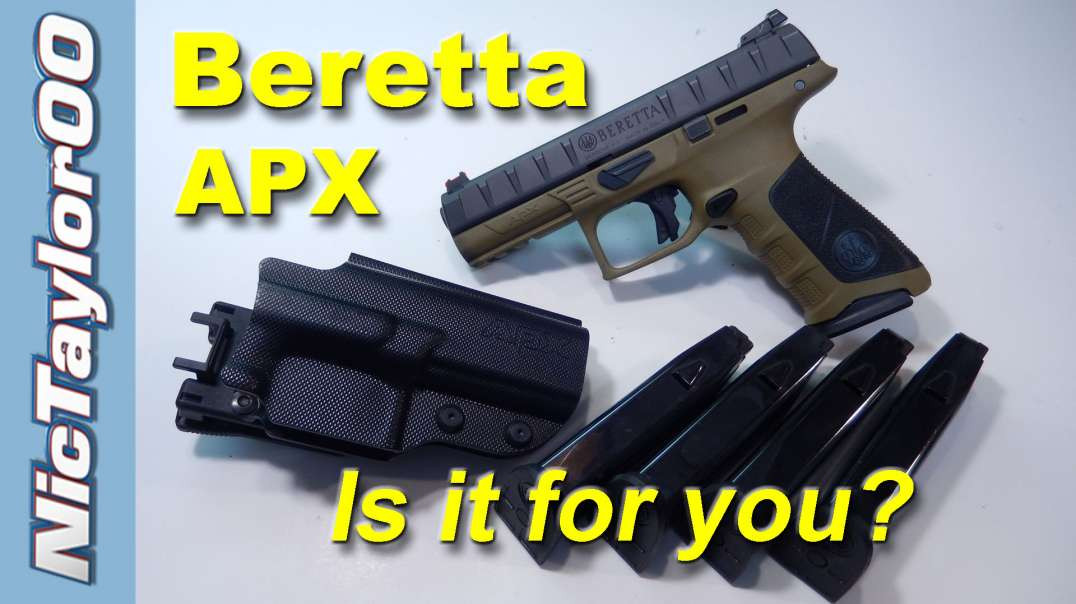 Beretta APX Review & Observations