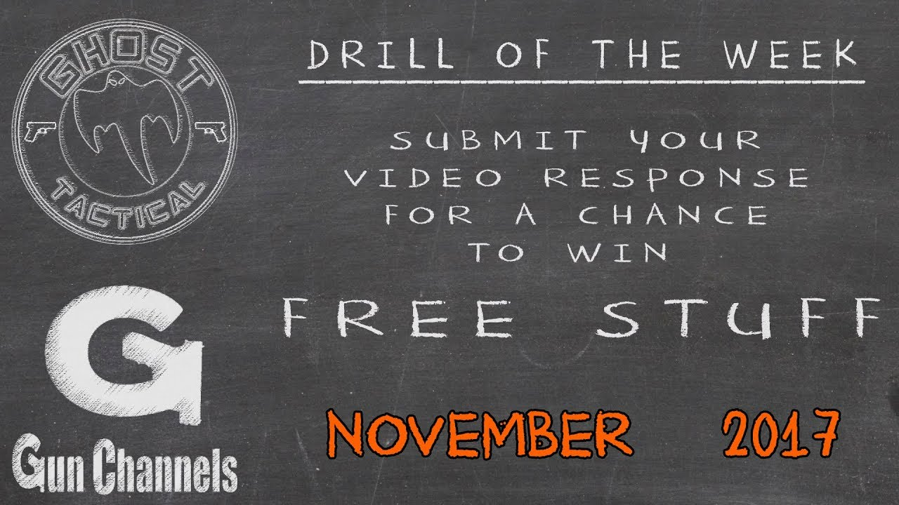 Ghost Tactical Drill of the Month for November 2017:  16 Candles Drill