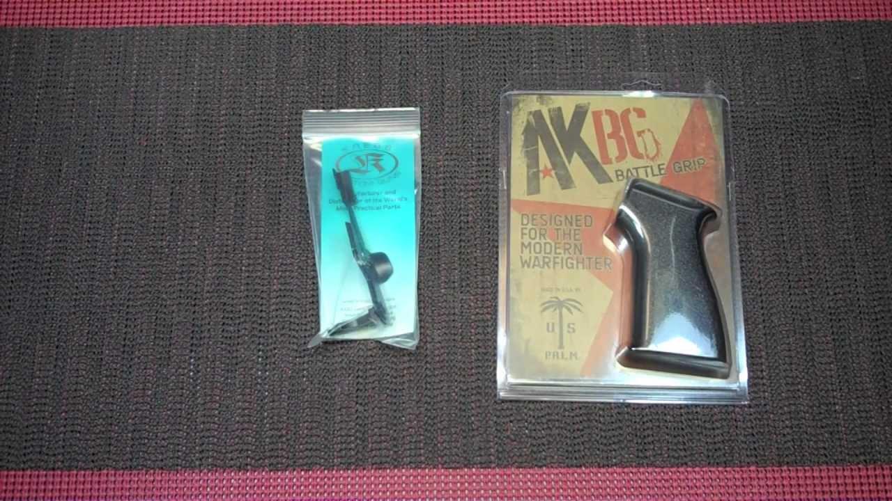 AK74 Parts :: Krebs Safety & US Palm Grip :: Musty Yeti