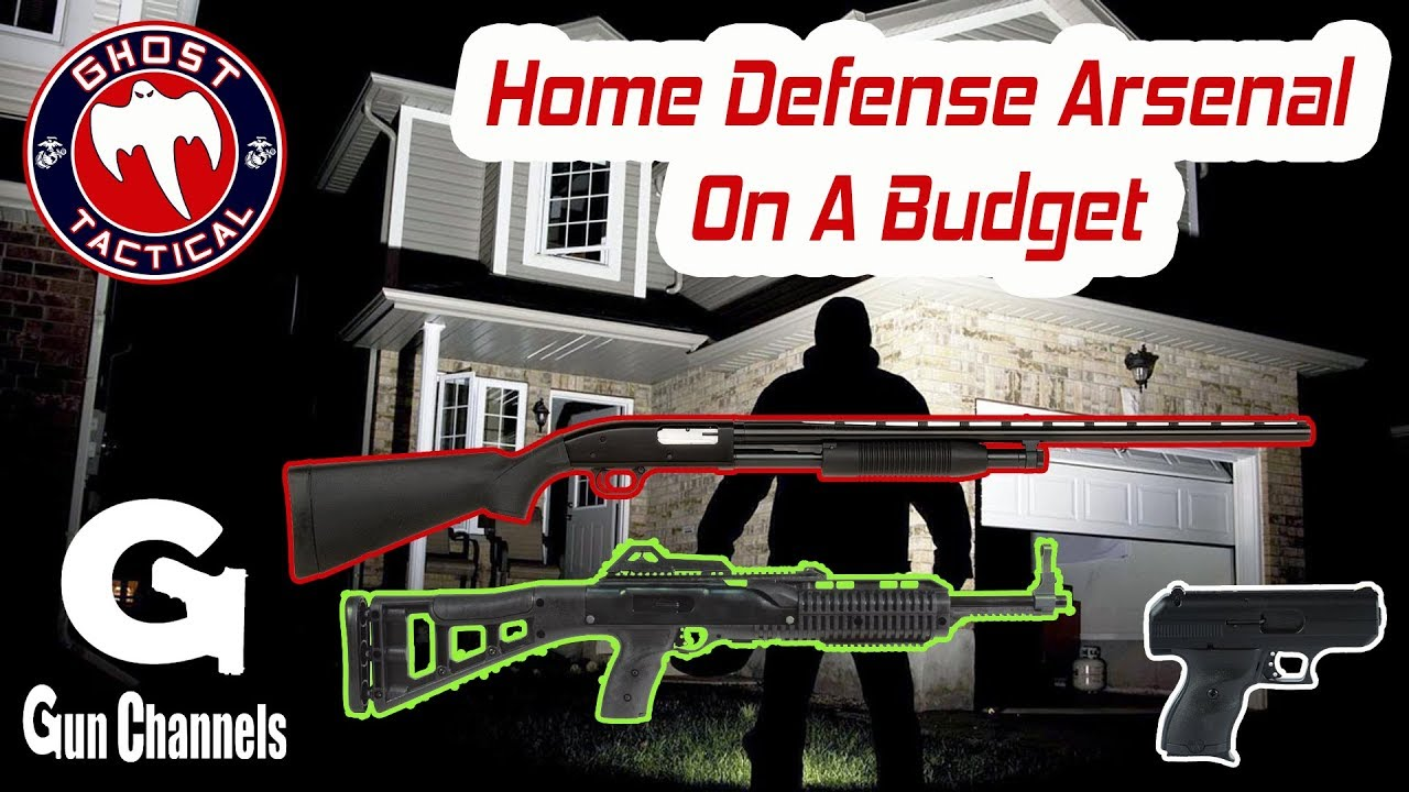 3-Gun Home Defense Arsenal on a Tight Budget:  On Location at Heber Gun