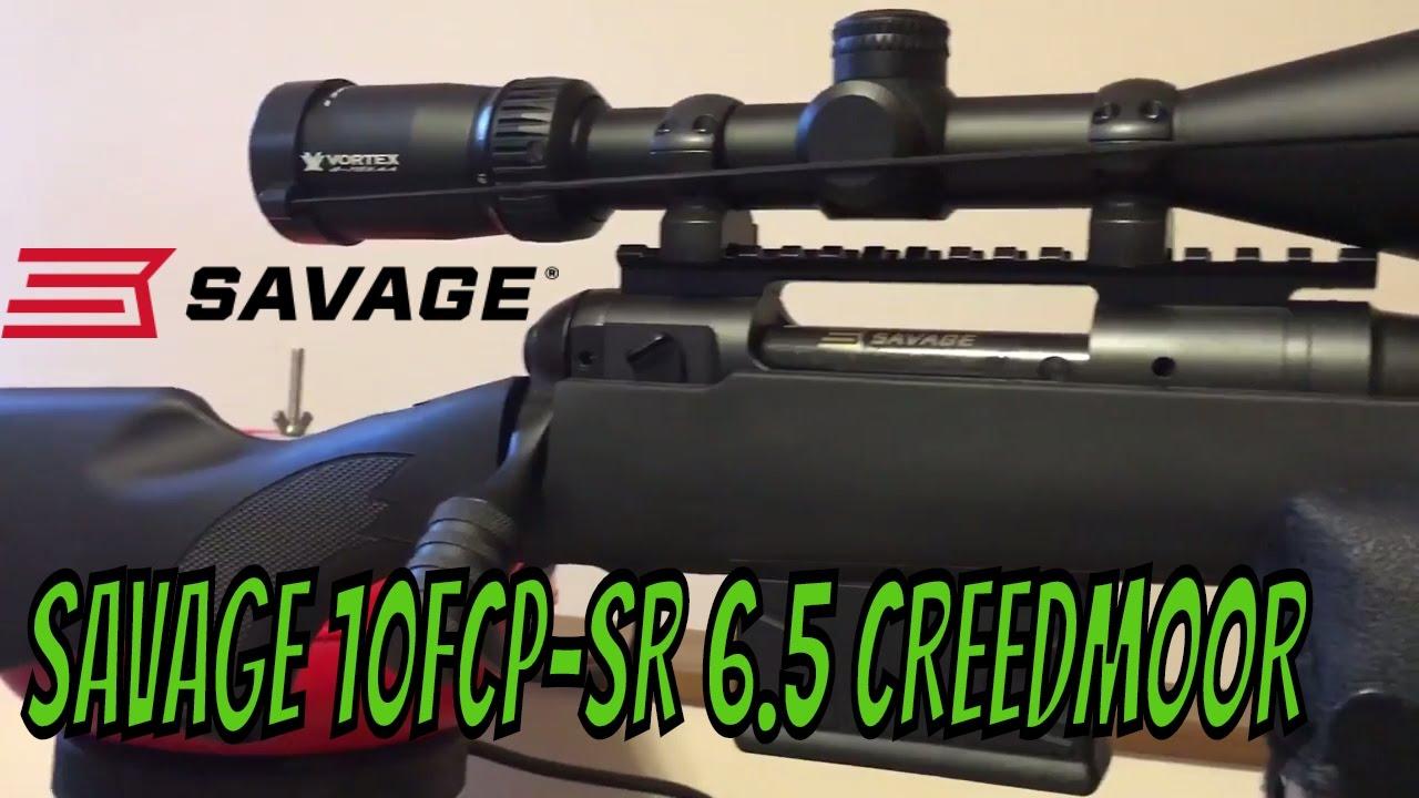 6.5 CREEDMOOR SAVAGE Model 10 FCP-SR