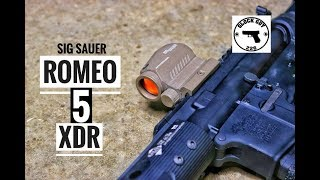 BUDGET RED DOT PERFECTION? SIG SAUER ROMEO 5 XDR OPMOD!