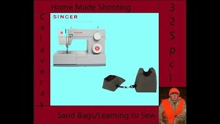Shooting Table Sand Bag Sewing Project   Supplies