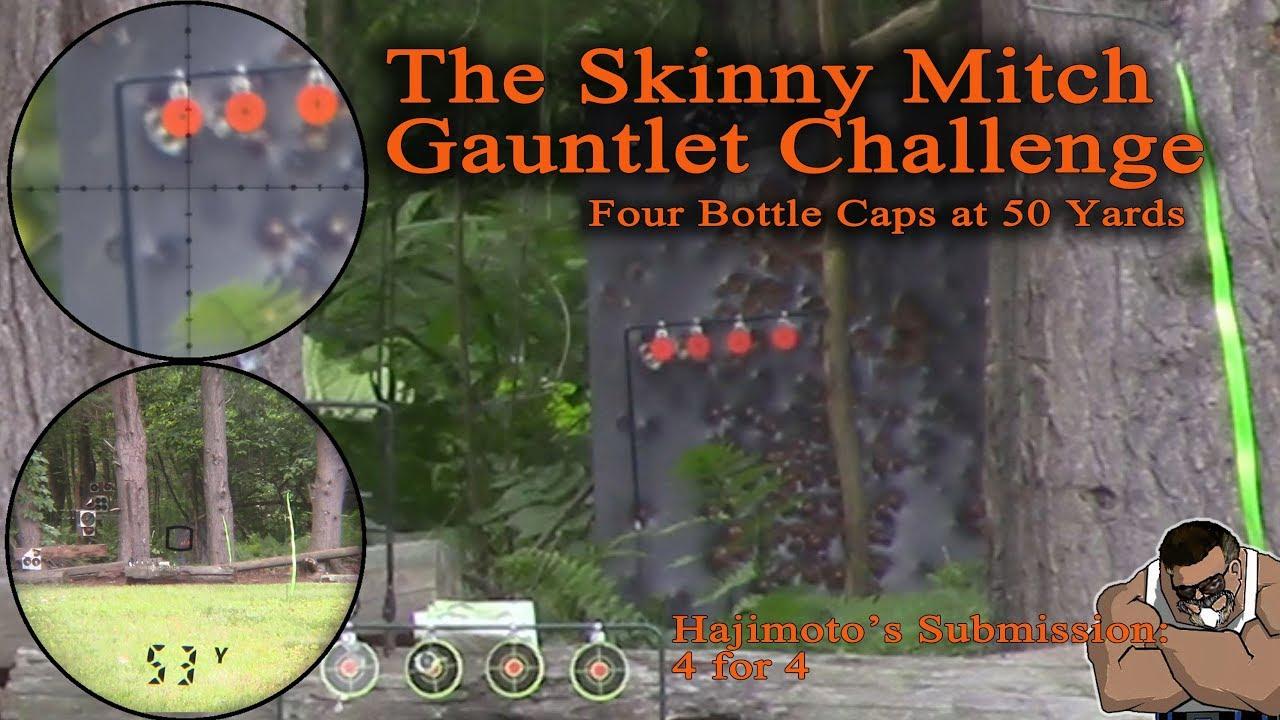 Skinny Mitch Bottle Cap Challenge