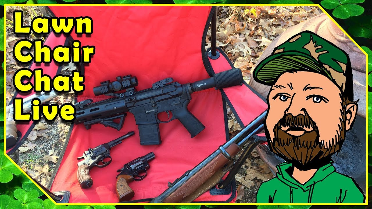 Lawn Chair Chat - Samsung S5, Boya Mic & SmoothQ Gimbal - Tobacco Pipes - Large Bore Rifles