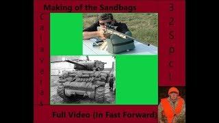 Shooting Table Sandbags Part 3 Making the Bags