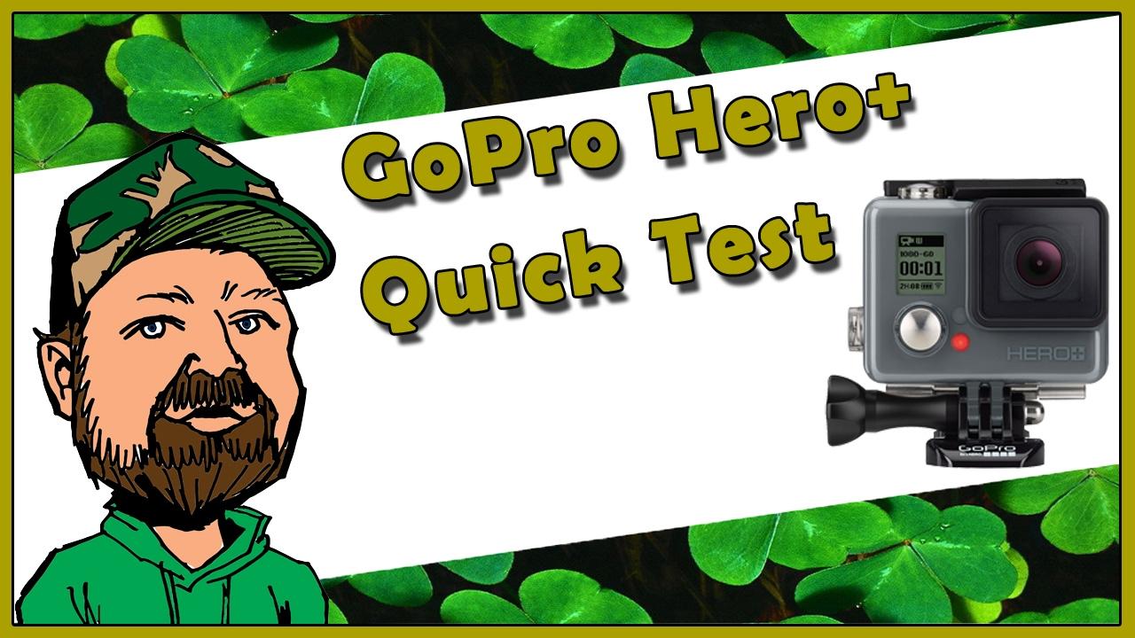 GoPro Hero+ Camera Video & Mounting System Test