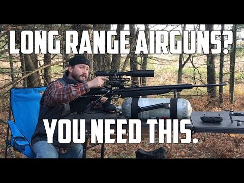 AirForce Texan  Big Bore Airguns Extreme Long Range Shooting - Get a ColdShot Adjustable Base!