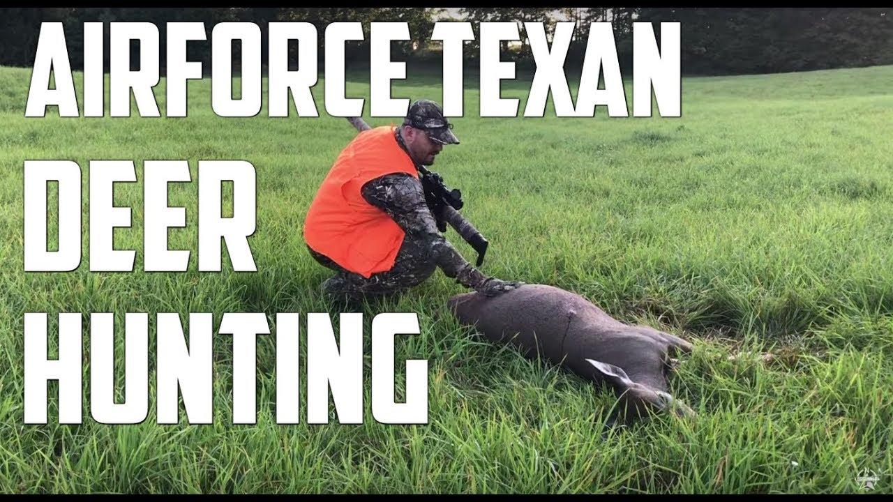 AirForce Texan Big Bore Air Rifle Deer Hunting - 2 Deer in First Air Gun Hunt!