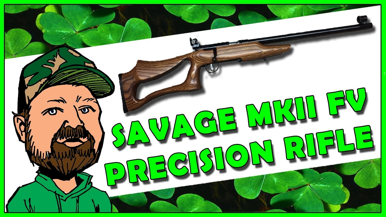 Savage MKII FV .22 Rifle - Precision Match Grade - 3 Position & Light Rifle Competition Ready
