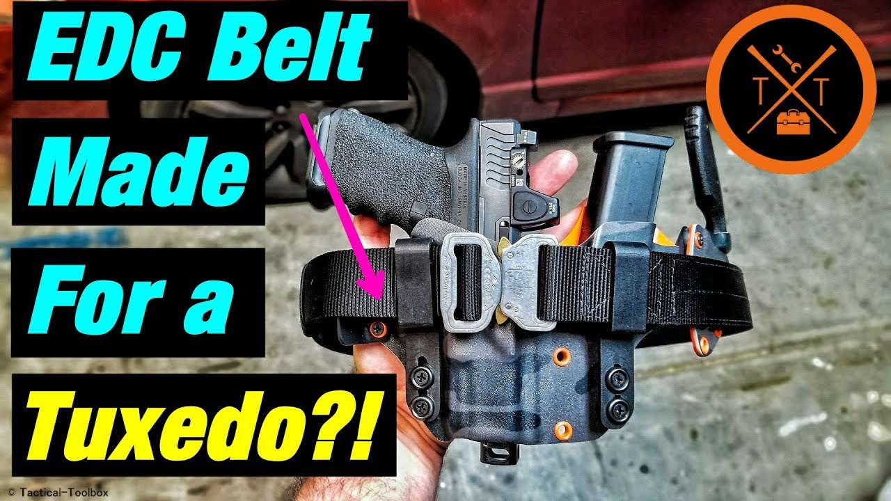 Cobra Belt For Dress Clothes?! Klik Belts Review +PewTuber Tips