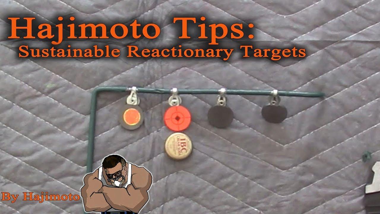 Hajimoto Tips: Sustainable Reactionary Targets
