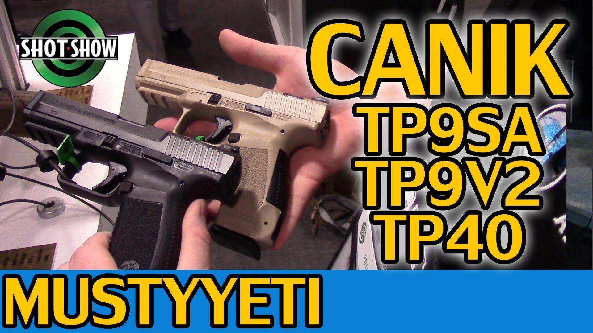 Canik Pistols   Shot Show 2015   Musty Yeti