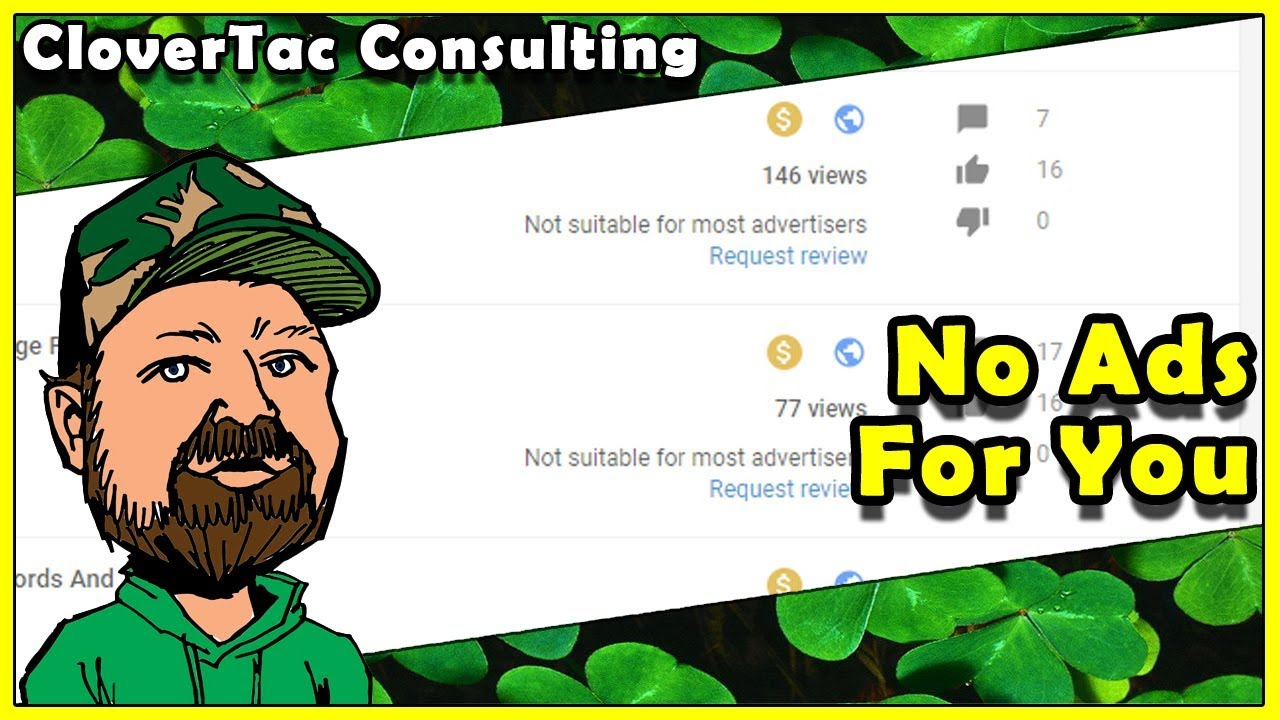 "CloverTac Explains ""Not Suitable For Most Advertisers"" - Why We Are Being Flagged - What C"