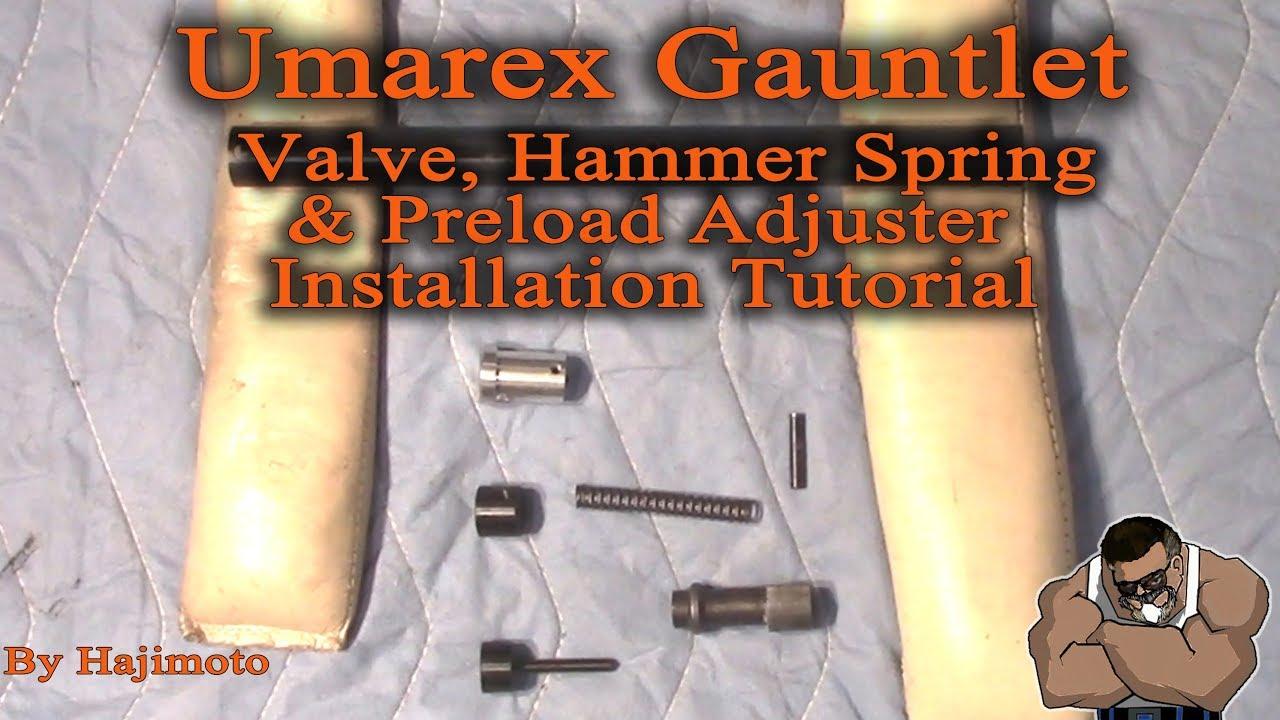 Umarex Gauntlet: Super Tune Kit Installation