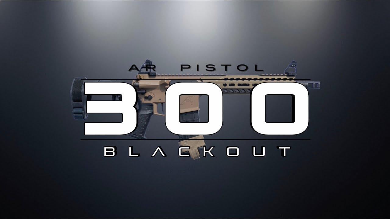 AR Pistol - 300blk & 5.56mm Overview