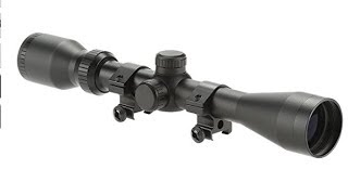 $39.99 Pinty 3-9x40mm rifle scope unboxing and general overview!