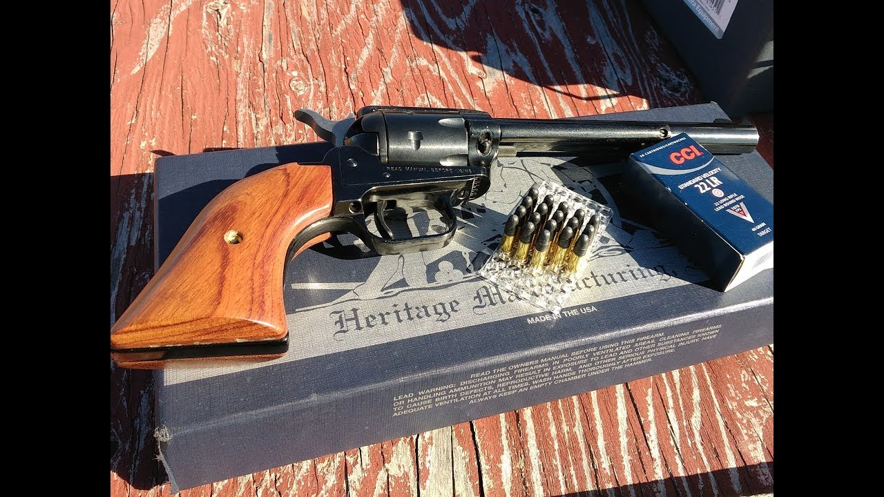 Heritage Rough Rider Revolver, range and accuracy test, part 2, CCI Standard Velocity ammo!